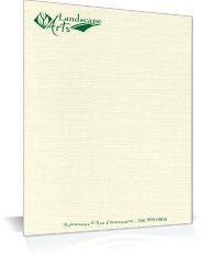 One or two Color Letterhead