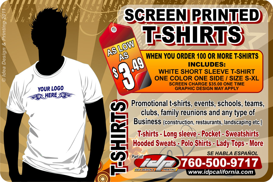 Screen printing idp here for flyer reheart Images